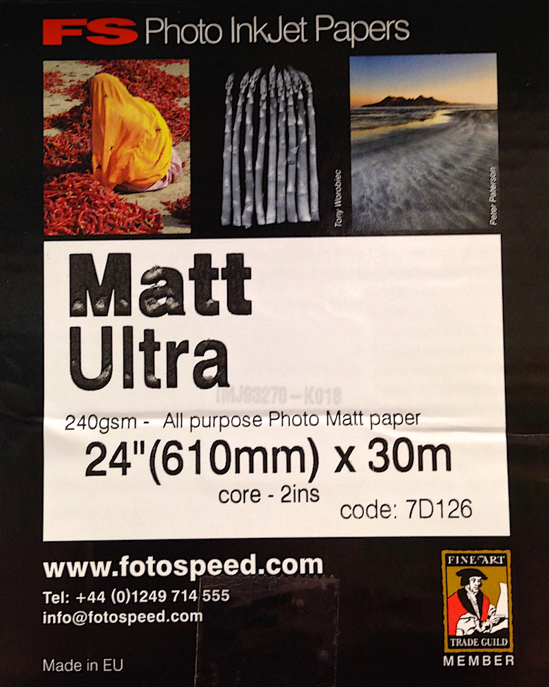 Fotospeed Matt Ultra Paper Label