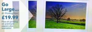 Gallery Thirty One Slider Image - A1 Printing from £19.99