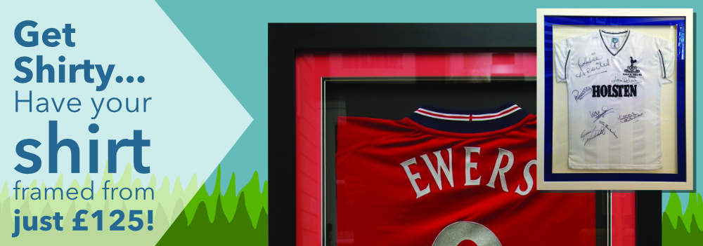 Shirt Framing from £139!